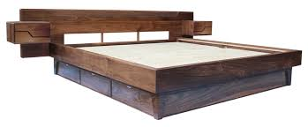 1111s platform bed south of urban modern sustainable furniture