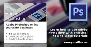 tutorial photoshop online photoshop for beginners online training course
