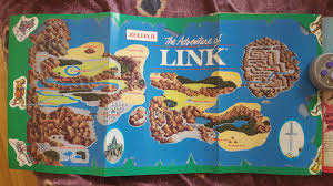 Map Of Hyrule Zelda 2 Map Zelda Ii The Adventure Of Link Overworld Map