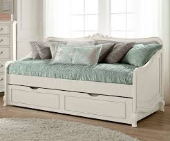 twin size beds for girls kensington white finish elizabeth daybed with trundle 20040 ne