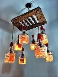 Diy Bottle Chandelier Bedroom Creative Diy Hanging Bottle Chandelier Ideas Elegant