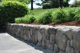 Bush Rock Garden Edging Retaining Walls Perth Retaining Wall Perth Wa
