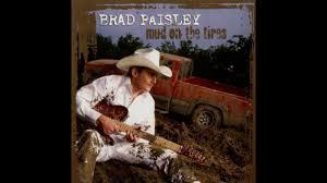 brad paisley a mistake with me instrumental