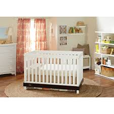 Graco Convertible Crib Parts by Graco Maddox 3 In 1 Convertible Crib White Espresso Baby Cribs