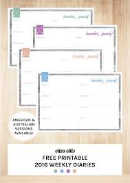 free printable planner 2016 australia free printable 2016 home organizer calendars covers by eliza ellis