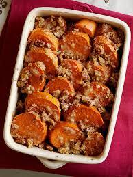 praline candied garnet yams recipe