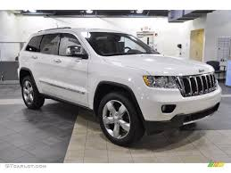 white 2011 jeep grand limited exterior photo