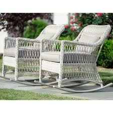 White Wicker Outdoor Patio Furniture Wicker Patio Furniture White Rocking Chairs Patio Chairs