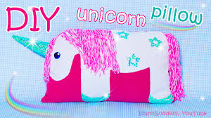 Head Cushion Socks Diy Unicorn Pillow How To Make A Unicorn Pillow Out Of Old