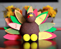 foam turkey craft thanksgiving gratitude turkey craft walmart