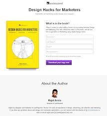Home Design Ebook Download 20 Ebook Landing Page Examples Used By Today U0027s Best Brands