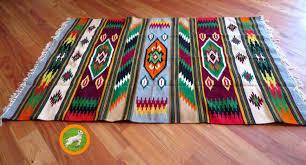 Aztec Area Rug Aztec Rug Navajo Rugs Southwestern Print Ethnic Wall