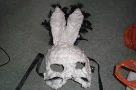 paper mache rabbit paper mache rabbit style lizzybeth s look on