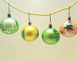 vintage 1950s ornaments etsy