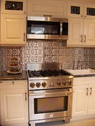tin backsplash advantages and decorative ideas for a lovely kitchen
