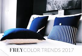 Bedding Trends 2017 by Frey Luxury Pillows Frey Color Trends 2017