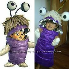 diy monsters boo costume toddler