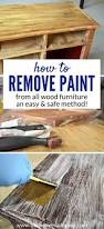 How To Get Paint Off Laminate Floor How To Easily Remove Paint U0026 Varnish From Old Furniture U2022 Our