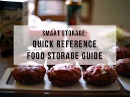cuisine reference smart storage reference food storage guide i value food