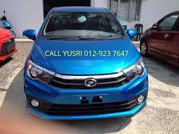 biru alza perodua bezza warna pilihan model varian dan harga terkini beli