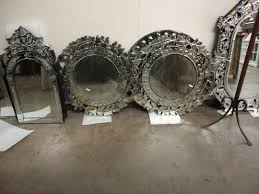 interior framed mirrors for bathroom venetian mirror leaning