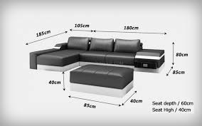 pouf pour canapé canapé d angle en cuir italien avec pouf design et pas cher modèle