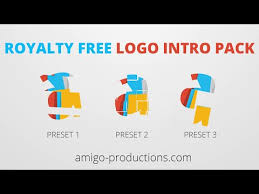 logo reveal royalty free after effects template amigo productions