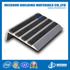 china concrete outdoor stair treads non slip with carborundum