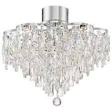 Flush Mount Mini Chandelier Crystal Semi Flush Mount Close To Ceiling Lights Lamps Plus