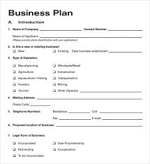 business plan template download free simple business plan template