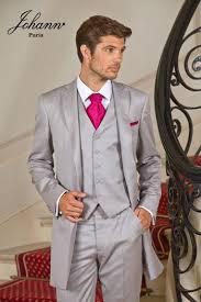 costume mariage homme gris johann costume redingote en gris perle
