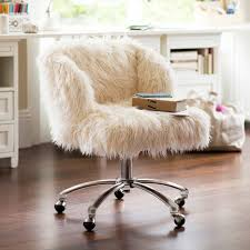 Ivory Chair Ivory Furlicious Wingback Desk Chair Pbteen