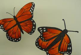 art paper scissors glue dia de muertos monarchs
