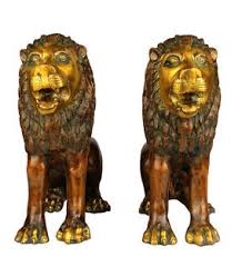 metal lion statue brass lion statue 5275 free shipping ebay