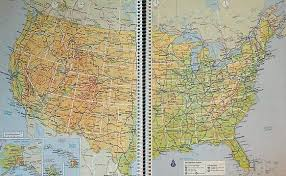 atlas road map road atlas map for each state