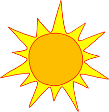drawing of a sun drawing arts sketch