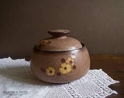 Denby Vase Pottery Denby Studio Etsy