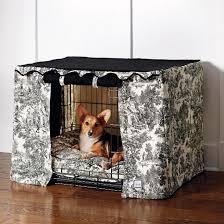 dog crate dog crate cover puppies pinterest crate toile crate cover and pet bed frontgate