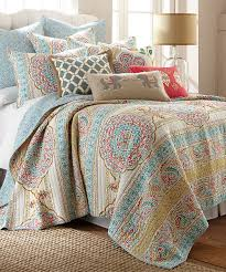 Desigual Home Decor by Levtex Home Blue Tangier Quilt Set Zulily цвета Pinterest