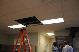 install a dome camera in a ceiling tile