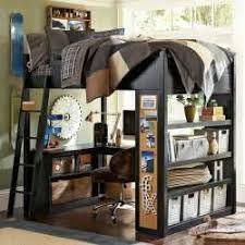 bunk beds with desk at the bottom intersafe