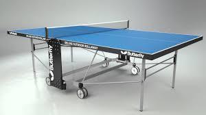 butterfly outdoor rollaway table tennis butterfly deluxe outdoor rollaway table tennis table youtube