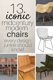 13 iconic mid century modern chairs estate sale blog