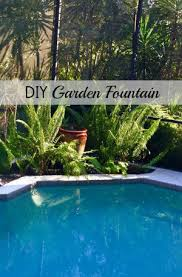 Diy Patio Fountain Diy Garden Fountain Diane And Dean Diy