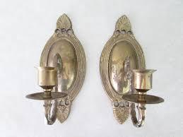 Vintage Sconces 45 Victorian Candle Sconces Ornate Victorian Brass Candle Sconce