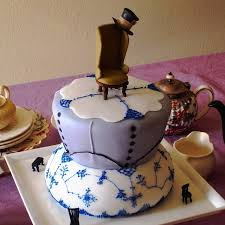 mad hatter u0027s tea party cake cakecentral com