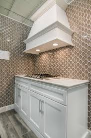 kitchen backsplash wall tile nova hex smoke ceramic mosaic tile