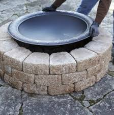 Lowes Firepit A And Easy Do It Yourself Firepit Surround Lowes Creative