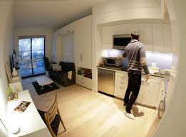 300 Sq Ft Apartment High Tech Millennial Lifestyle Inspires Micro Apartment Boom Curbed