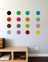 colorful polka dot wall decals blik sweet 16 sweet 16 sweet 16